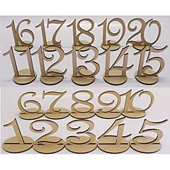 Dřevo Tabulka Center Pieces-Nepřizpůsobeno držáky jmenovek 20 Piece / Set