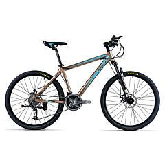 Mountain Bike Cycling 21 Speed 26 Inch/700CC 40mm Unisex Adult Double Disc Brake Suspension Fork Aluminium Alloy FrameAnti-slip Aluminium