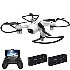 Drón MAISIDA 4CH 6 Tengelyes 2,4 G 720P HD kamerával RC quadcopterFPV LED Világítás Egygombos Visszaállítás Auto-Felszállás Headless Mode