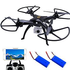 Drone HuanQi 4CH 6 Eixos 2.4G Com Câmera HD de 5.0MP Quadcópero com CRFPV Iluminação De LED Retorno Com 1 Botão Auto-Decolagem Modo