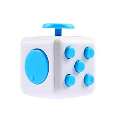 Spielzeuge Glatte Geschwindigkeits-Würfel Fidget Cube Magische Würfel Grün Blau Gelb ABS