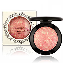 1Pcs Baked Blush Palette Baked Cheek Color Blusher Blush Colorete Iluminador Maquiagem Bronzer Sleek Cosmetic Shadows