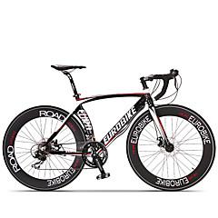 Comfort Bikes Road Bikes Pyöräily 14 Nopeus 26 tuumaa/700CC SHIMANO ST A070 Levyjarru Ei vaimennusta Alumiinirunko Ei vaimennusta