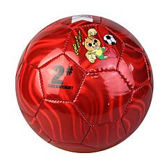 Football(Jaune Rouge Bleu Orange,PVC)Haute élasticité Durable