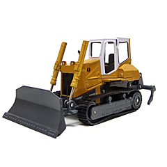 Construction Vehicles Pull Back Vehicles 1:10 Metal Yellow