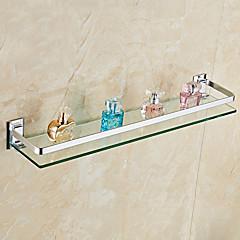 Bathroom Shelf / AnodizingGlass Aluminum /Contemporary