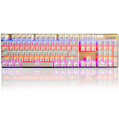 Mekanisk tastatur Gaming tastatur USB Sort akse Multi farve baggrundslys Ajiazz Ajazz 机械战警