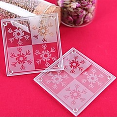 Snowflake Coaster Favor 2pcs/box Beter Gifts®Party Souvenirs