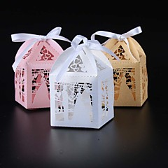 50pcs forever love bride and groom wedding candy box party favors box wedding supplies