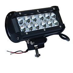 36ワットの車の作業は光6000Kの白色ジープオフロードバギートラックSUVボートdc12-24vのためのジープスポットライトのヘッドランプのための投光照明を率いて主導