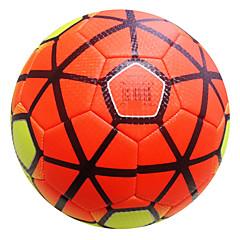Football(Jaune Vert Orange,Cuir)Haute élasticité Durable