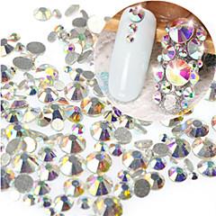 1 bag Neglekunst Dekor Rhinstenperler Sminke Kosmetikk Neglekunst Design
