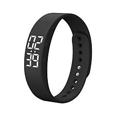 DMDG T5S Смарт-браслет Смарт-часы Защита от влаги Израсходовано калорий Педометры Регистрация деятельности Спорт будильник Таймер Android