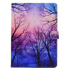 Para con Soporte Diseños Funda Cuerpo Entero Funda Árbol Dura Cuero Sintético para Apple iPad Air 2 iPad Air