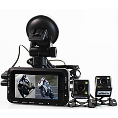 Motorcycle Driving Recorder Locomotive Riding Sports Camera Separate Waterproof Dual Lens