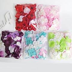 Set of 100 Colorful Petals Rose Petals Table Decoration Confetti Wedding Decorations-100Piece/Set