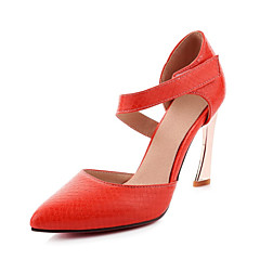 Women's Heels Spring Summer Fall Club Shoes D'Orsay & Two-Piece Patent Leather Customized Materials Wedding Party & Evening DressStiletto