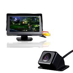 4.3 bil TFT LCD-skærm 170 bil bakkamera