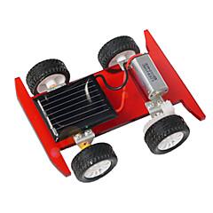צעצועים לבנים צעצועי דיסקברי צעצועים המופעלים באנרגית השמש מכונית פלסטיק מתכת כסוף