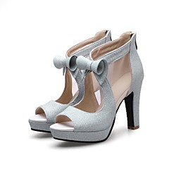 נשים-עקבים-חומרים בהתאמה אישית-נוחות חדשני גלדיאטור סוליות מוארות נעלי מועדון נעליים פורמלית-זהב שחור כסף-חתונה משרד ועבודה שמלה יומיומי