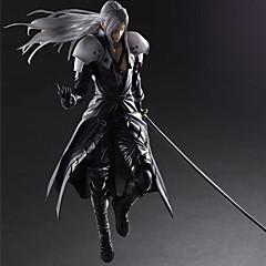 נתוני פעילות אנימה קיבל השראה מ Final Fantasy Sephiroth PVC 28 CM צעצועי דגם בובת צעצוע