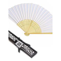 Ventilatoren und Sonnenschirme-# Stück / Set HandfächerStrand Thema Garten Thema Vegas Thema Asiatisches Thema Blumen Thema Schmetterling