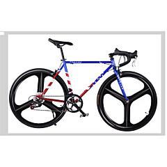 Fiksni oprema Bicikli Biciklizam 14 Brzina 26 inča/700CC Shimano V-kočnica Bez prigušenja Bez prigušenja Aluminij Anti-Slip Čelik