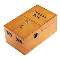 NEJE træ ubrugelig færdigsamlet maskine kasse legetøj med logo