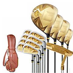 Herren-Gold-Golfschläger Golf-Sets für Golf strapazierfähige Legierung