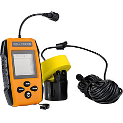 Fish Finder Waterproof Other LCD None None Wireless 4×AAA Hard Plastic yellow shad