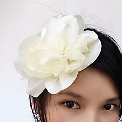 Satén Tyl Přílba-Svatba Zvláštní příležitost Neformální Květiny Skřipce Jeden díl