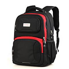 aspensport impermeável grande de 17 polegadas capacidade do homem de saco laptop mochila mochila preta para mochilas escolares mulheres