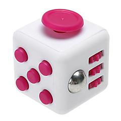 angst reliever være rastløs terningerne kubisk terning pille legetøj til fokusering / stress lindre abs --white&Rose
