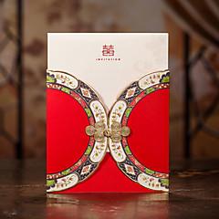 מותאם אישית כרטיס שטוח הזמנות לחתונהכרטיסי ברכה ליומהולדת כרטיסים ליום האם כרטיזים לברית/בת מילה כרטיסים למסיבת כלה כרטיסים למסיבת