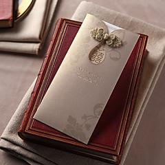 Personnalisé Carte plate Invitations de mariageMenu de mariage Cartes d'invitation Merci Cartes Cartes de réponse Echantillons