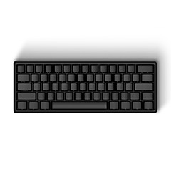Iqunix ® iqkb 62-key 60% מקלדת מקלדת מכנית עם סוג c-USB יציאת סגסוגת אלומיניום פגז אופציונלית סוגי דובדבן mx