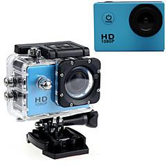 Action Camera / Sports Camera 16MP 640 x 480 1920 x 1080 1280 x 720 LED 防水 G-Sensor 広角 多機能 調整可能 USB 60fpsの 非対応 2 CMOS 32 GB シングルショット 30 M