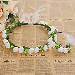 Foam Headpiece-Wedding Special Occasion Casual Outdoor Headbands Flowers Wreaths 1 Piece