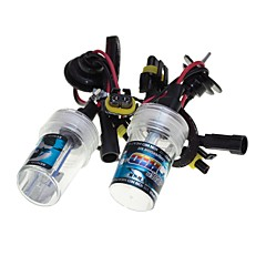 Sencart carro hid xenon luzes lâmpadas lâmpadas h1 / h3 / h7 / h8 / h9 / h11 / 9005 4300k 6000k 8000k branco diamante 55w