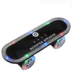 gyári OEM Vezeték nélküli Vezeték nélküli Bluetooth hangszóró Hordozható LED fény Support FM