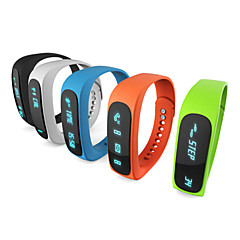 E02 Sport bluetooth bracelet smart watch healthy Wristband Time/Caller ID/alarm/Pedometer Sleep Monitor for IOS Android