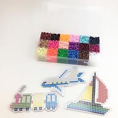 Sada na domácí tvoření Vzdělávací hračka Puzzle Kreslení Novinky a žertovné hračky Letadlo Vlečka Loď Náklaďák Plast EVA