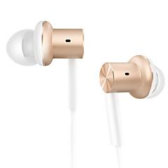 Xiaomi mi iv híbrido in-ear fone de ouvido mi pistão com microfone xiaomi fone de ouvido para xiaomi redmi3 / redmi 4s / xiaomi5 india edition