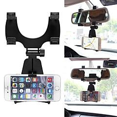 Ziqiao 360 graders bil auto bagspejl mount mobiltelefon holder beslag stativ vugge til samsung til iphone mobiltelefon gps