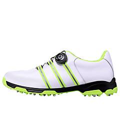 נעלי טיולי הרים נעלי יומיום נעלי גולף לגברים Anti-Shake ריפוד חסין בפני שחיקה נושם טבע הצגה סוליה נמוכה גומי צעידה