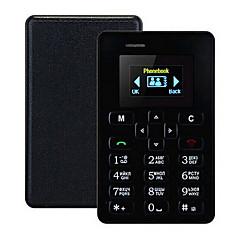 Nový ultra tenký aky m5 karta telefon 4.5 mm mini kapesní mobilní aeku kreditní karty tenký telefon