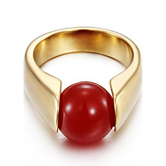 Ring Settings Opal Cute Style Movie Jewelry Euramerican Fashion Luxury British Classic Gold Plated Opal Red Black Gold Jewelry ForWedding