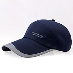 Verão, boné de beisebol, ao ar livre, algodão, lona, longo, beirais, sombra, sol, chapéu