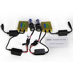 ac 55w hidキセノン変換キット、a100 canbusバラスト -  h4h / l h13 9004 9007  -  6000k  -  2つの電球&2つのバラスト