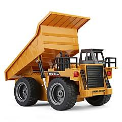 HUINA 1540 トラック 1:14 RCカー 2.4G 組立て済み リモコン リモートコントロールカー 1× USB充電ケーブル